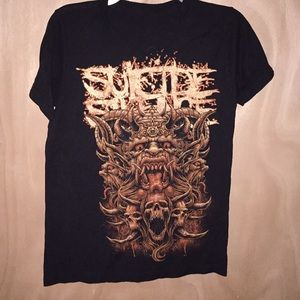 Suicide Silence t-shirt.